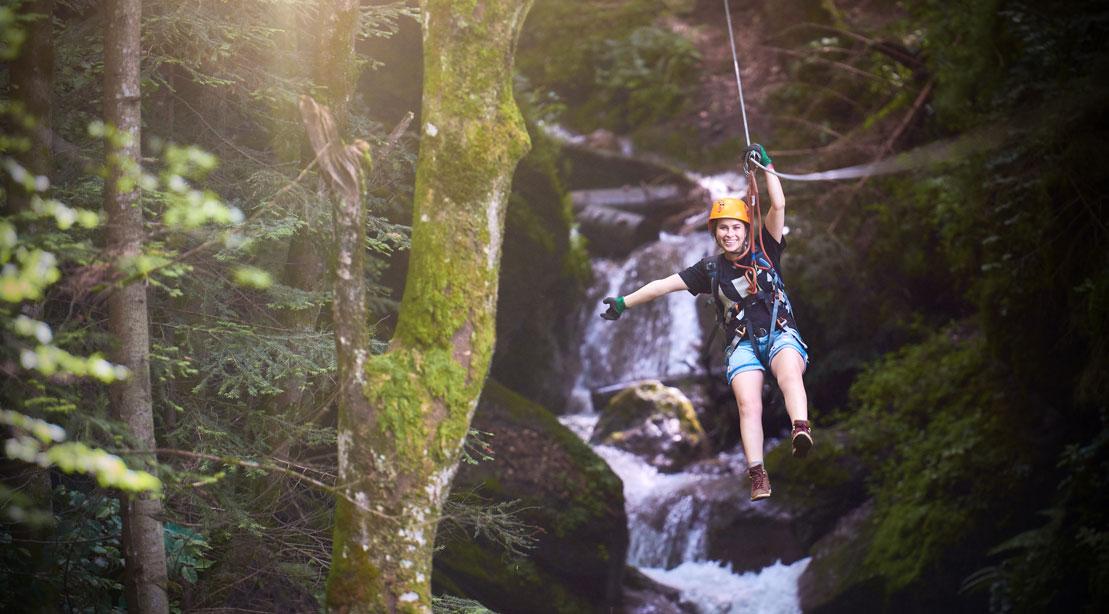 Woman Swinging