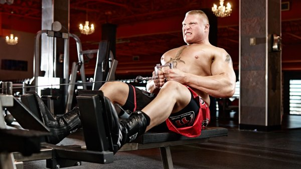 Back with Brock: Lesnar's Pull Day Workout   Muscle & Fitness