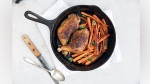 One-Pan North African-Spiced Chicken With Roasted Carrots