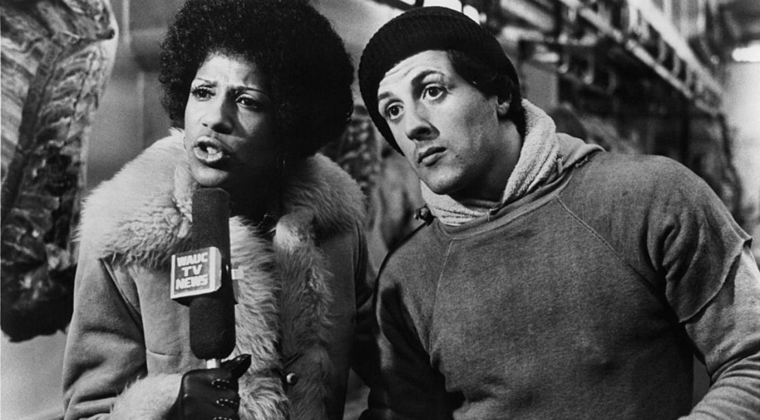 Never Before Seen Images from Classic Rocky Movies