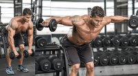 Bentover Dumbbell Lateral Raise