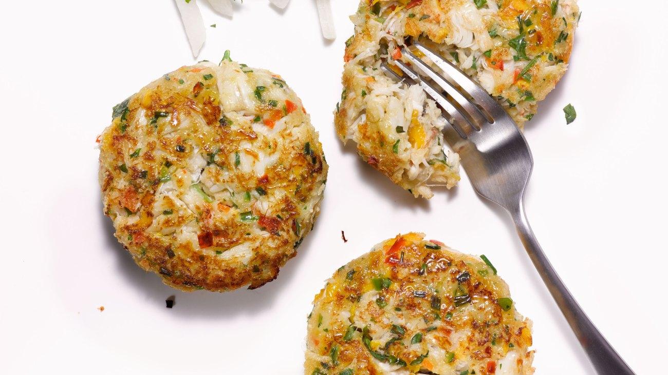 Add Some Heat: Mango-Jalapeno Crab Cakes
