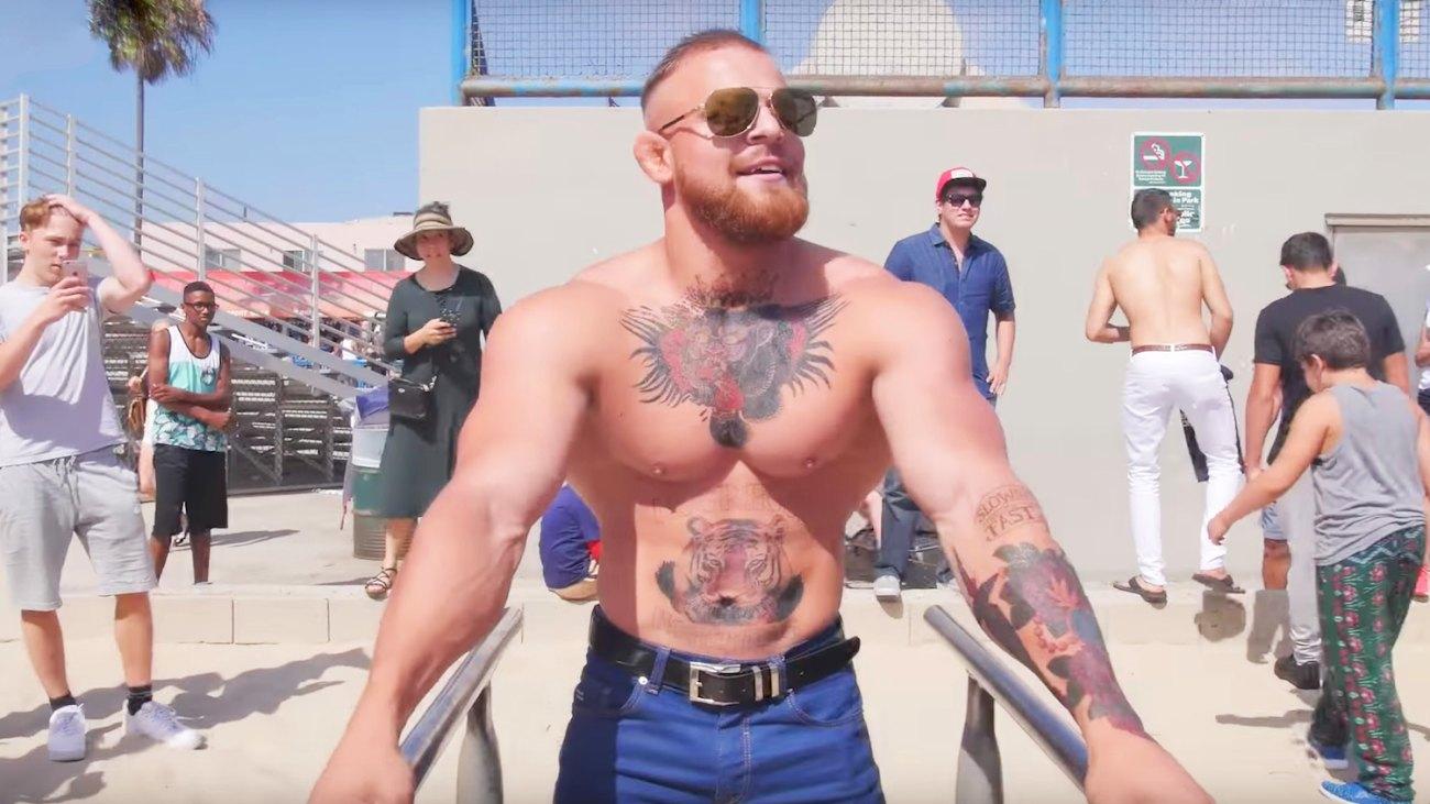 Conor McGregor Impersonator