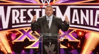 Triple-H On Stage at WrestleMania 30