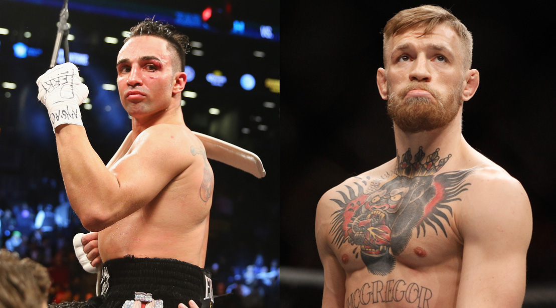 Paulie Malignaggi: McGregor 'Whimpers Like a Girl' From Body Shots