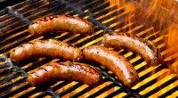 Hotdogs on Grill