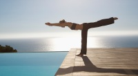 Inverted Hamstring Yoga Stretch