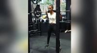 Jasmine Tookes Barbell Squat
