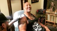 The Rock Famous Arm Tattoo Gets a Facelift