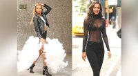 The Victoria's Secret Angels look sexy in New York City for their lingerie fittings