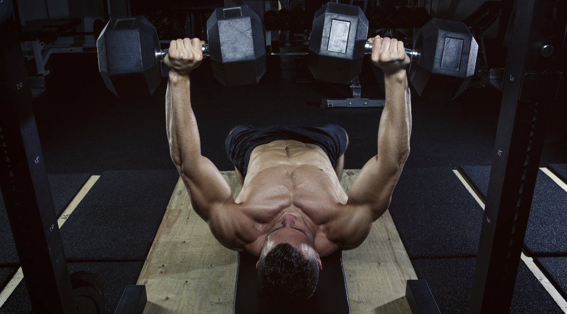 The Dumbbell-Only Upper Body Workout to Add More Muscle Up Top