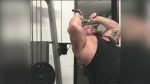WATCH: World's Strongest Man Eddie Hall Crushes the Overhead Triceps Extension