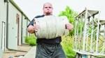 Brian Shaw Lifting A Keg