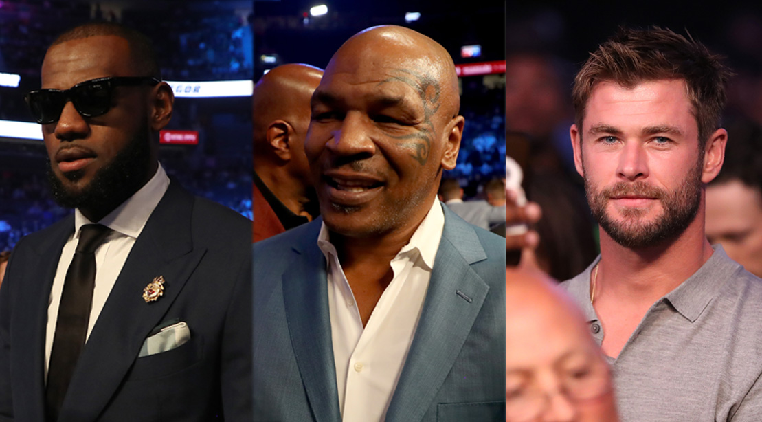 14 of the Biggest Celebrities from the Mayweather-McGregor Fight