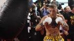Floyd Mayweather vs Conor McGregor fight