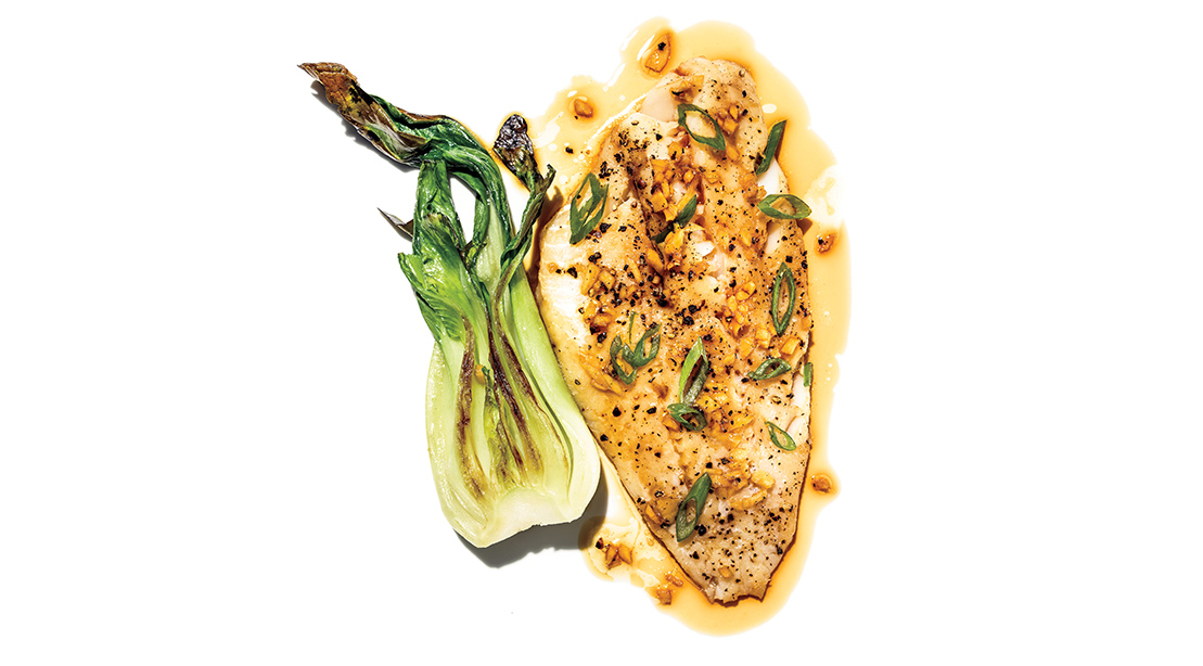 Broiled Asian Cod