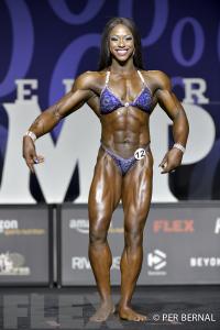 Sheronica Henton - Women's Physique - 2017 Olympia