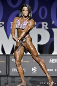 Frances Mendez - Women's Physique - 2017 Olympia