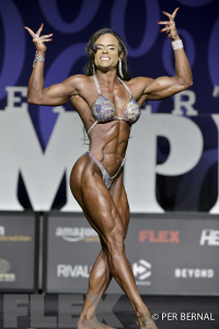 Evelaine Rocha - Women's Physique - 2017 Olympia
