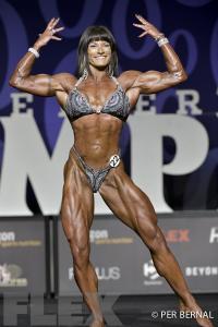 Jennifer Taylor - Women's Physique - 2017 Olympia