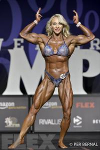 Margita Zamolova - Women's Physique - 2017 Olympia