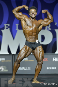 Breon Ansley - Classic Physique - 2017 Olympia