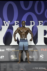 Raymond Akinlosotu - Men's Physique - 2017 Olympia