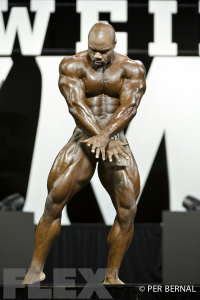 Gerald Williams - Open Bodybuilding - 2017 Olympia