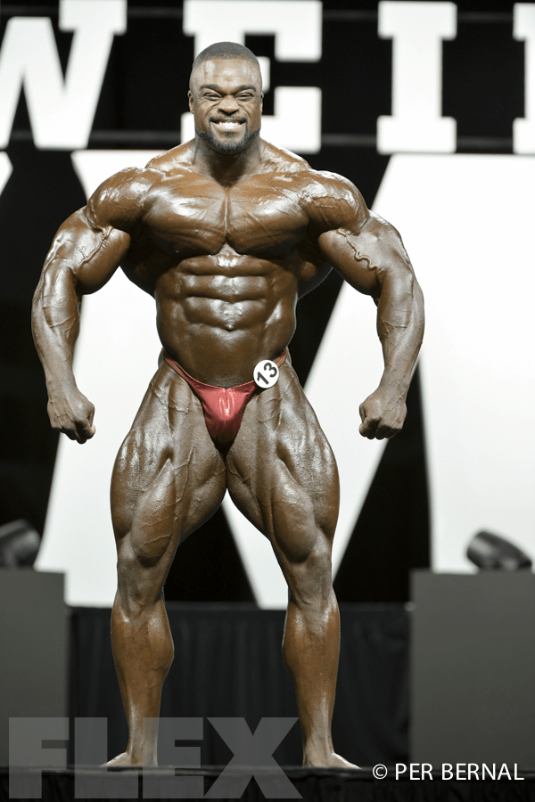 Brandon Curry - Open Bodybuilding - 2017 Olympia