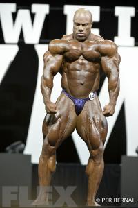 Phil Heath - Open Bodybuilding - 2017 Olympia