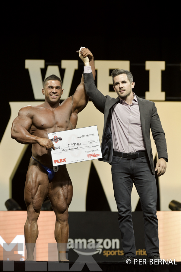 212 Bodybuilding Awards - 2017 Olympia