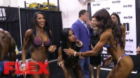 2017 Olympia Pump Up Room: The Women