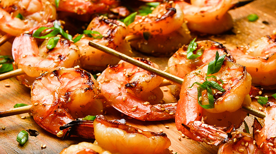 Spicy Asian BBQ Shrimp   Muscle & Fitness