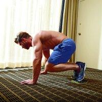 Slider Double Knee-in Exercise