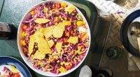 Vegetarian: Tex-Mex Nacho Salad