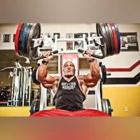 Hammer Strength Barbell Curl