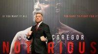UFC fighter Conor McGregor wearing suit