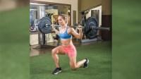 bb split squat