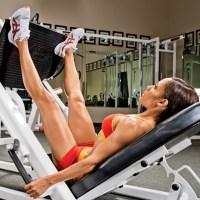 Wide-Stance Leg Press