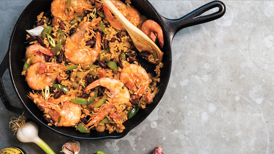 Creole Gumbo with Red Beans and Rice