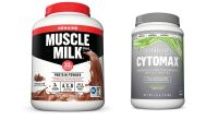 Muscle Milk and CytoMax