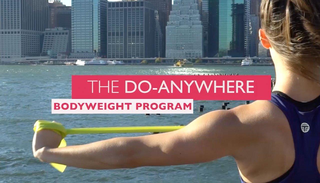 Do-Anywhere Bodyweight Program: Day I Arms