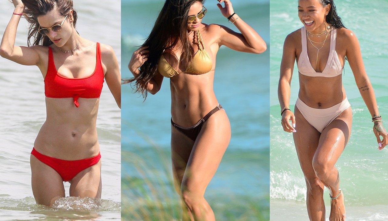 Sexiest Celebrity Bikini Bodies of 2017: Photo Gallery