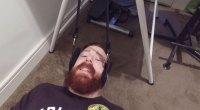 Sheamus in a Neck Hammock