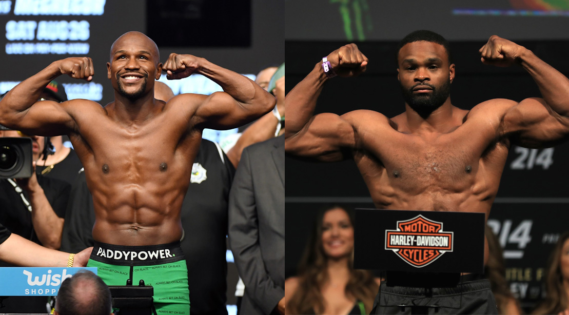 Tyron Woodley Says He D Train Floyd Mayweather Jr Amid Ufc Fight Rumors Muscle Fitness