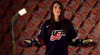 Hilary Knight of the U.S. Women's National Hockey Team