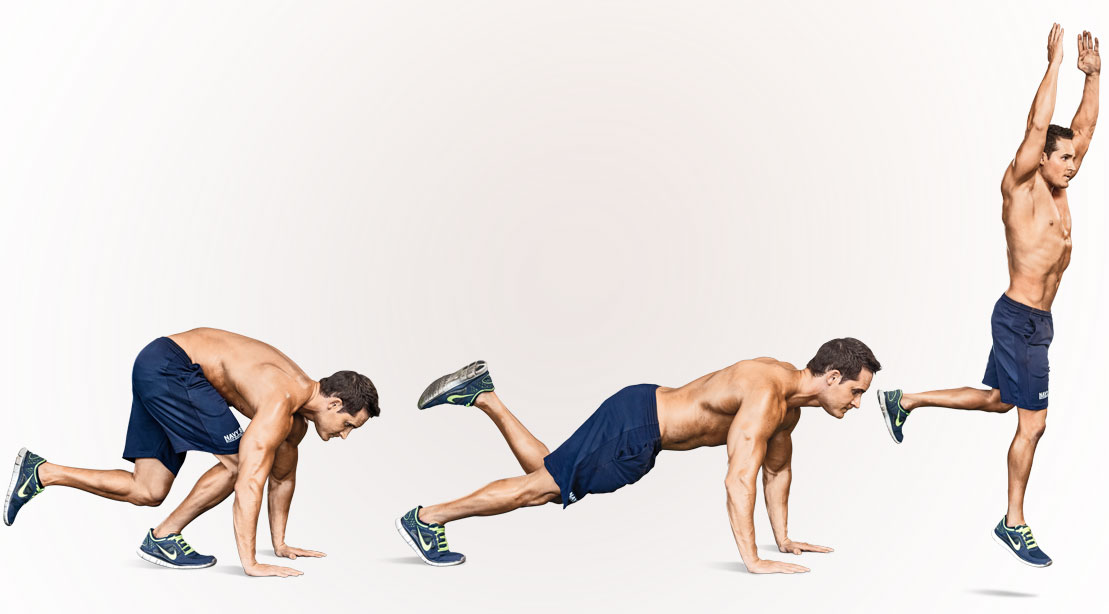 How To Do Single Leg Burpees Muscle Fitness