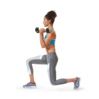 Reverse Lunge to Single Leg Kickback