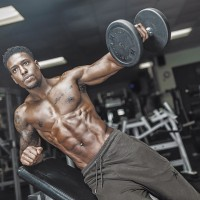 Incline Side Dumbbell Lateral