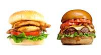 Chicken Sandwich vs Hamburger